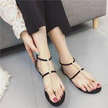 2017 de La Perla Del Verano del Gladiador de Las Mujeres Boho de Encaje Hasta Las Sandalias de Las Señoras Zapatos Alpargatas Planas de Los Talones Sandalias De Cuero De Diseño Zapatos de Las Mujeres(China (Mainland))