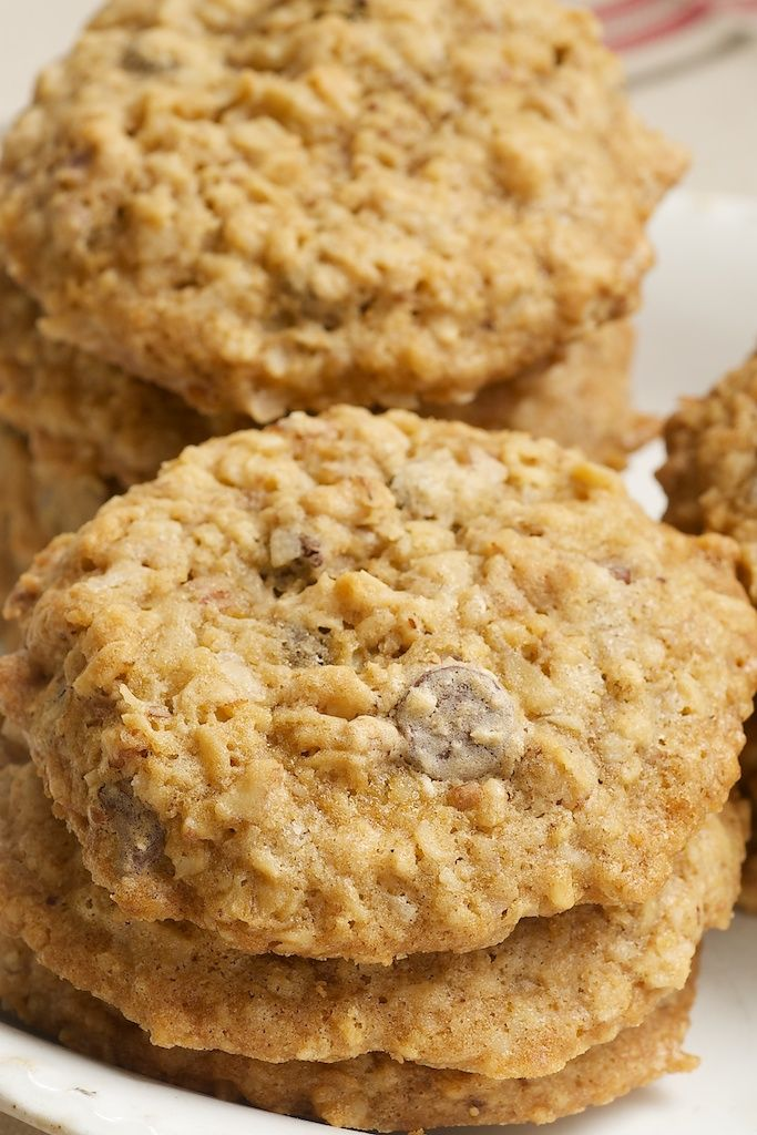 Cowboy Cookies are big, hearty cookies packed with oats, chocolate, nuts, coconut, and more! - Bake or Break
