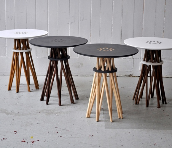 Black Bundle Table :}