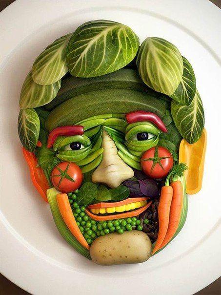 овощная тарелка - Поиск в Google