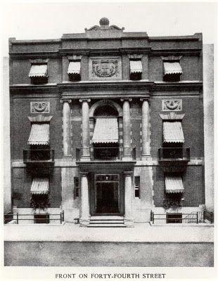 """""""Tweedland"""" The Gentlemen's club: The Harvard Club of New York"""