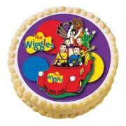 wiggles big red car edible image ice cream cake