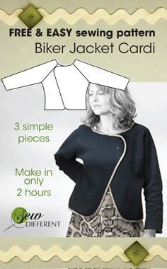 Free and really easy sewing pattern from Sew Different. Free pdf Pattern