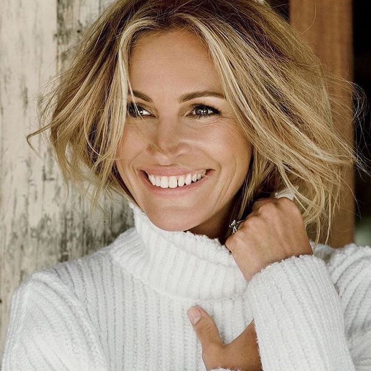 Blonde Julia Roberts - photographed by Tom Munro for Allure Magazine October 2015