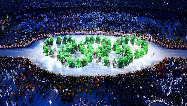 Águas de Pontal: Olimpíada, enfim, traz clima para as massas.