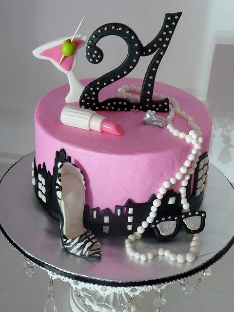 Celebrating 21 by Karen's kakes, via Flickr