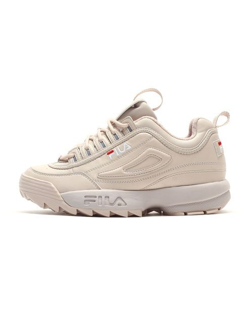 The 90's are back and we are glad as f ** k! And while we can pass the good old days revue, we also bring the hot shit back! What as a must under no circumstances, the Fila Womens Disruptor Low's in color are peach blush that fit more than perfect for the increasingly popular retro trend. The sporty cool vibe and the chunky silhouette speak for themselves, while the quality leather upper and the Fila Detailing care at the sides for the final touches.