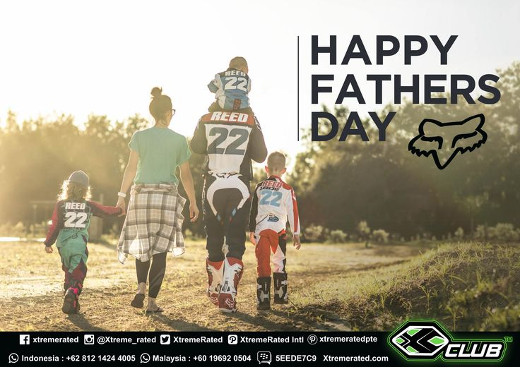 Happy Father's Day  #xtremerated #xclub #foxracing