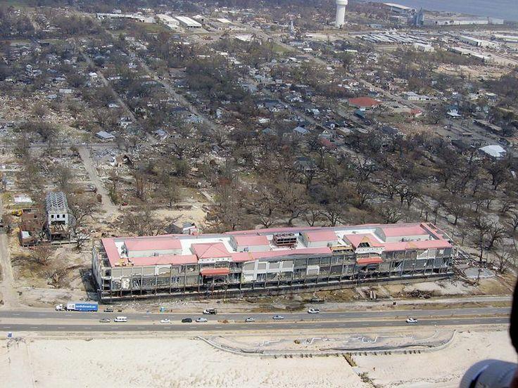 Katrina damage:  Biloxi, Mississippi Grand Casino