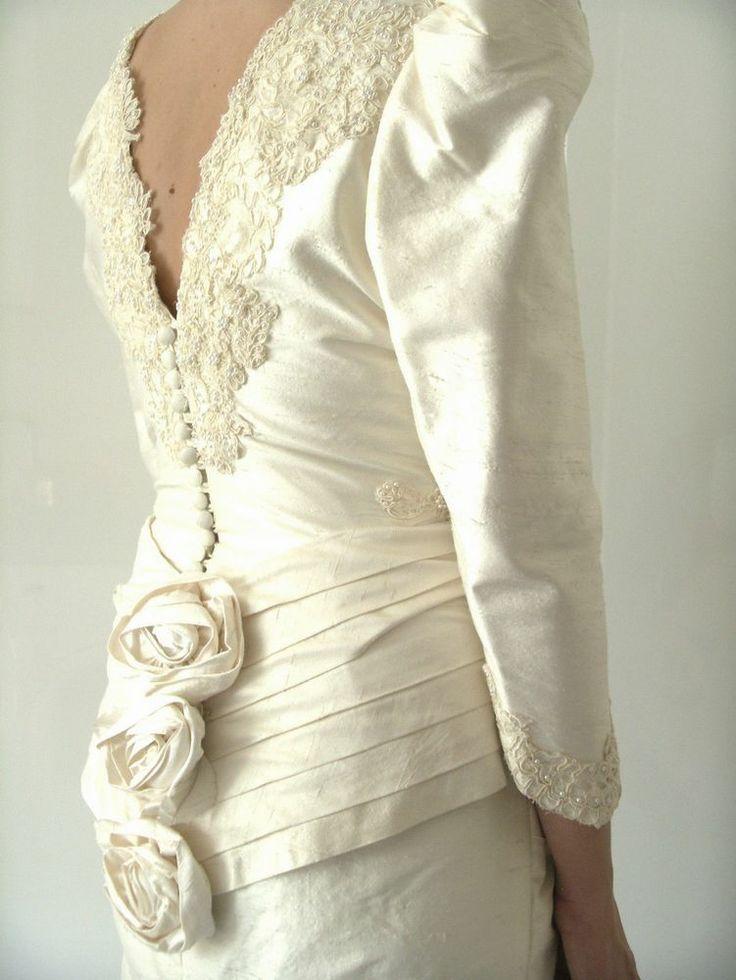 1960s wedding dress