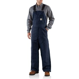 Carhartt FRR43 Men's Flame-Resistant Canvas Bib Lined Overall #Carhartt #Coverall