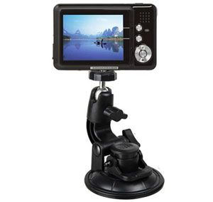 Car Window Suction Cup Tripod - Black - Gudang Gadget Murah