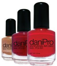 Antifungal nail polish. Those with toe fungus and fingernail fungus can still we