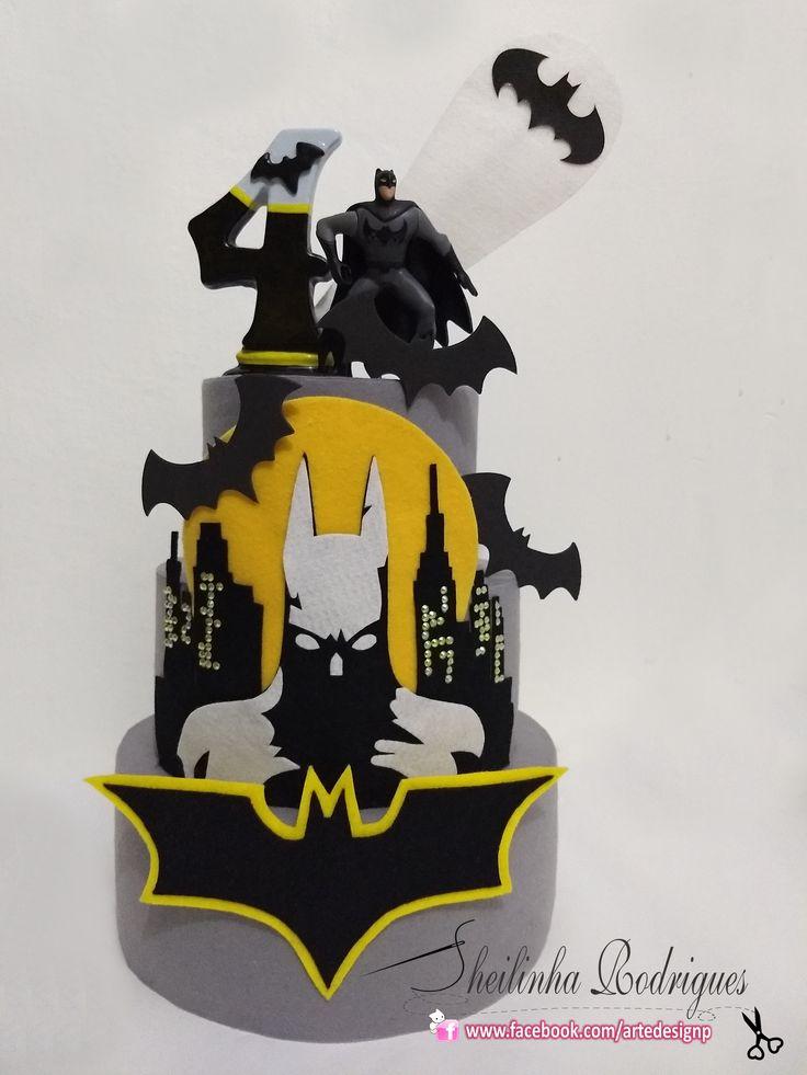 Bolo Fake (feltro) Batman