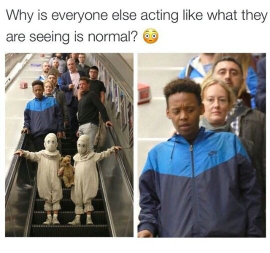 In the movie I thought they were just two little kids who wore weird outfits, but NO they have scary demon eyes that turn people to stone!