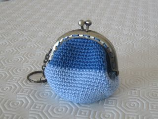 Agulha Mágica - Magic Needle: Porta moedas em croché - Crochet purse