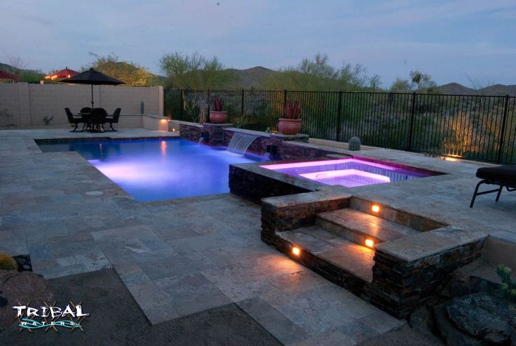 17 Best Images About Tribal Waters Custom Pool Gallery On Pinterest Arizona Swimming Pool