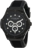 Stuhrling Original Men's 160R.33561 Special Reserve Apocalypse Sport Quartz Multi-function Rubber Strap Watch