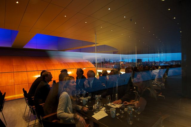 Conference Dinner at #Copenhagen #operahouse