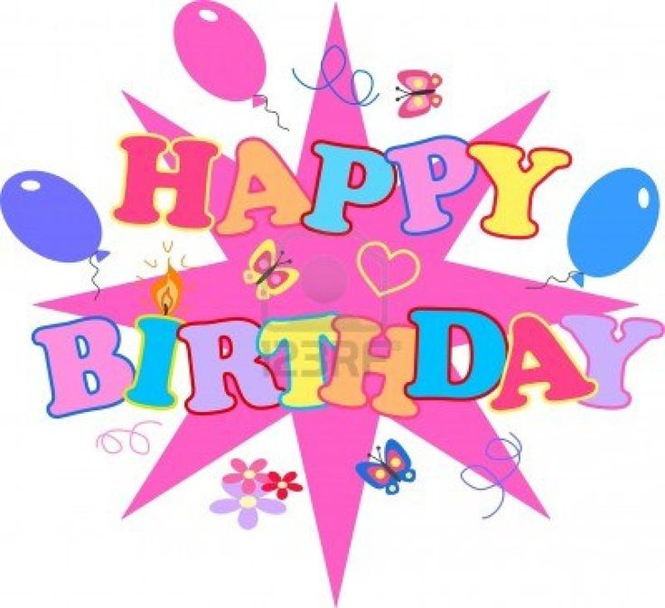 637 best images about happy birthday clip art on - Happy birthday carmen images ...
