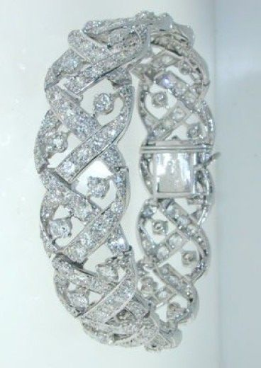 Cartier - CARTIER LONDON Magnificent Diamond Bracelet - Hancocks