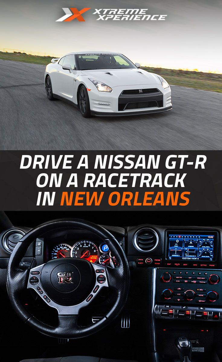 Ever wanted to rip a nissan gt r around a racetrack now you can in new orleans at xtreme xperience located just 30 minutes from the french quarter at the