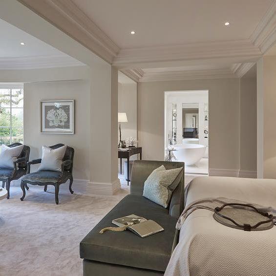 The huge master bedroom in our latest show home project looking through  into the ensuite bathroom. 646 best Sophie Paterson Interiors   Bedrooms images on Pinterest
