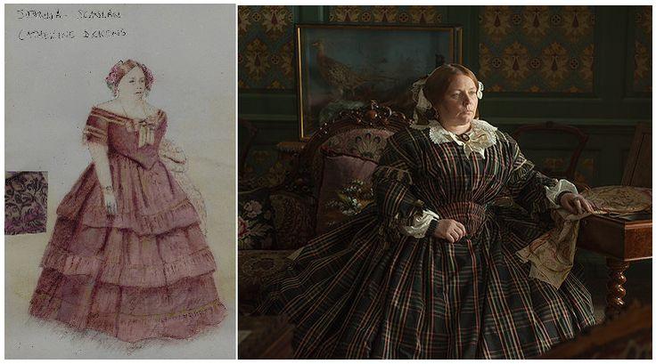"""Michael O´Connor. """"La mujer invisible"""" (2013). Joanna Scanlan en el papel de Catherine Dickens"""