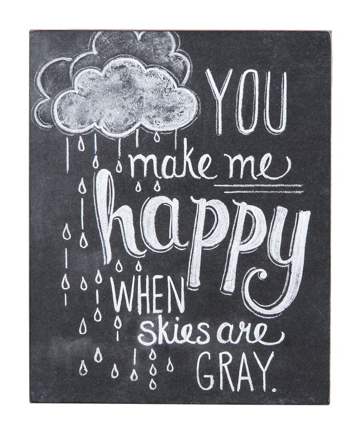 """""""You Make Me Happy"""" Wall Hanging"""