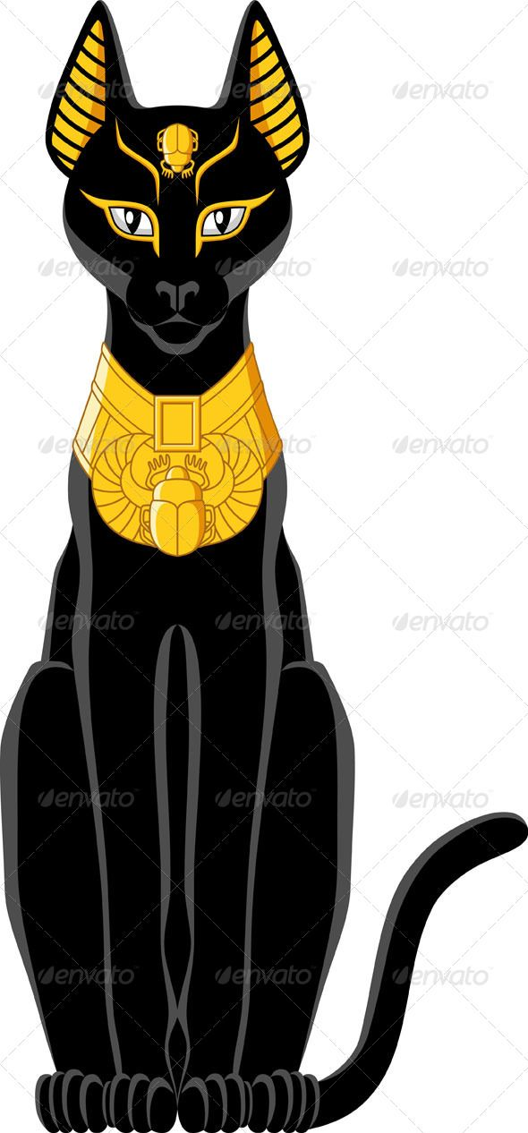 Egyptian Cat - Animals Characters
