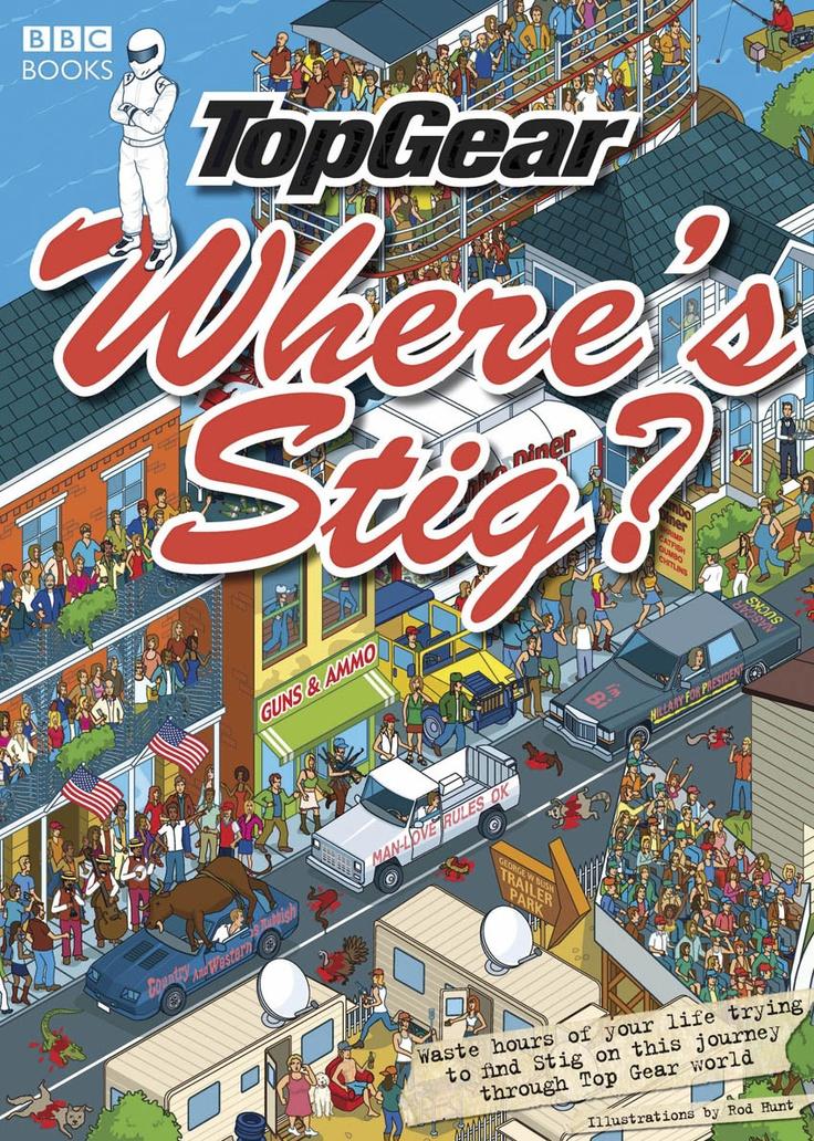 Top Gear Where's Stig? Book