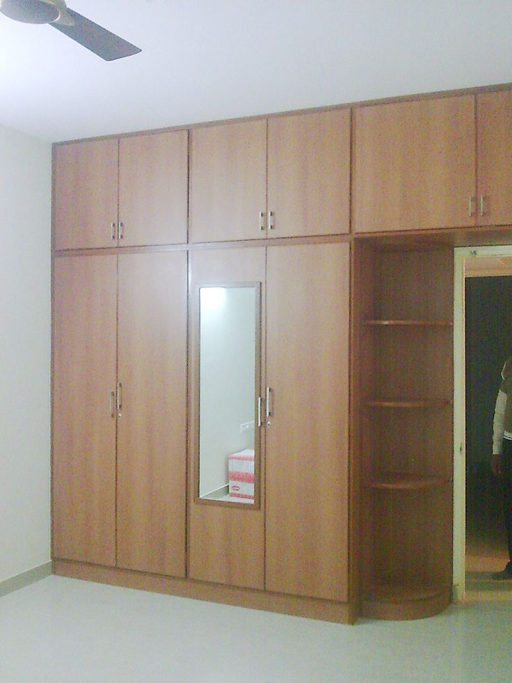 Build in wardrobe, Bedroom cupboard designs and Wood ...