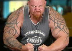 This man has the biggest biceps in Britain