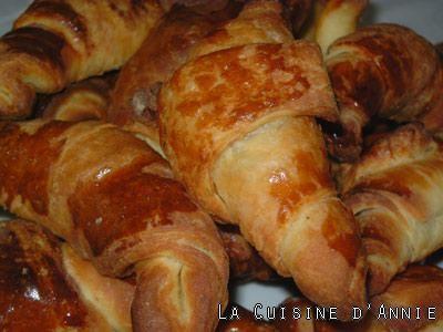 Croissants façon boulangerie