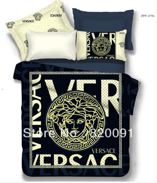 83 24 Hot Sale 4pcs Branded V E R S A C E Bedding Set