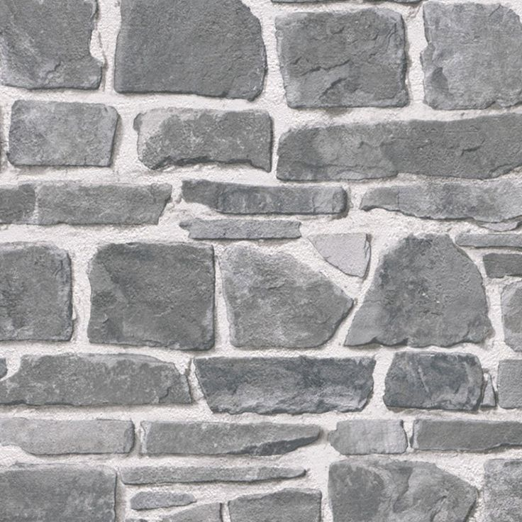 88 best papel pintado ladrillo y piedra images on pinterest for Papel pintado piedra gris