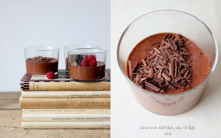 Mikyna v kuchyni: Čokoládová pěna: Ta nejlepší na světě! / Mousse au chocolat
