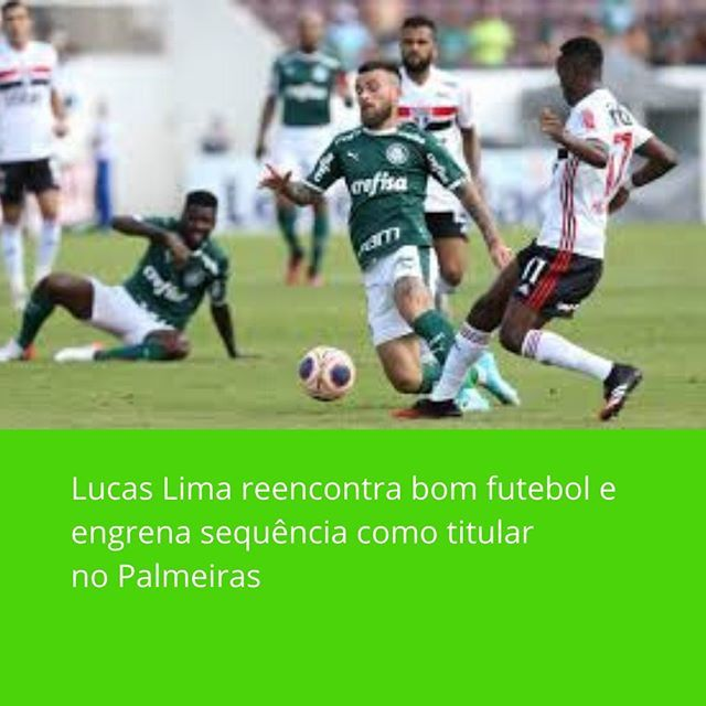Campeonato Brasileiro De Futebol Serie Bdesde Que Assumiu O Palmeiras Vanderlei Luxemburgo Deixou Claro Que Ve Lucas Lima Como Um Jogador Importante Para A E