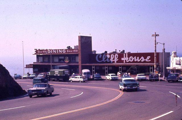 Cliff House San Francisco 1960s