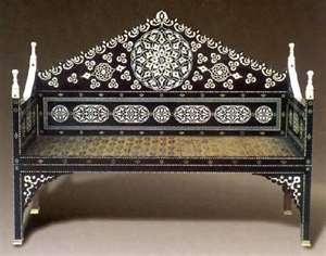 Campaign throne, mid 16th century, Topkapi Museum.