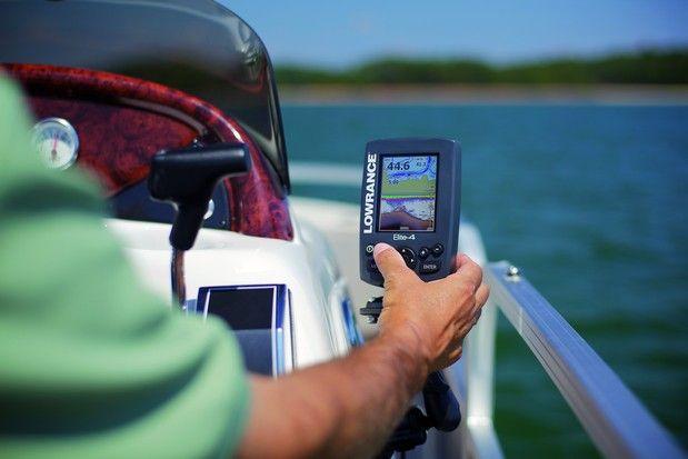Como realizar la pesca spinning mar con ecosonda desde embarcación