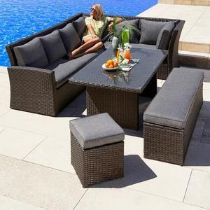 Velka Rodinna Zahradni Souprava Avenberg Corsica In 2020 Patio Furnishings Outdoor Furniture Patio Decor