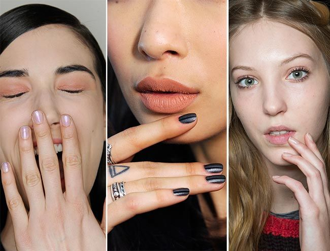 Rounded Nails Fall/ Winter 2015-2016 Nail Trends: Rounded Nails