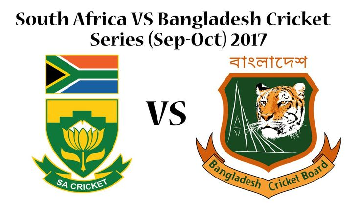 South Africa Vs Bangladesh Cricket Series 2017 Matches Schedule