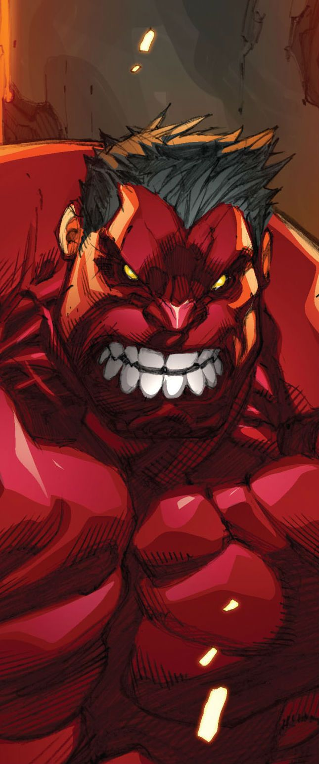 Red Hulk by Joe Madureira