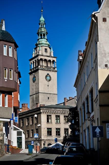 Town hall in Klodzko, Poland | Das Rathaus von Glatz