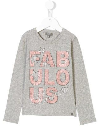 491b0cbe56 Microbe By Miss Grant T-shirt con stampa borchiata | Embroidery ...