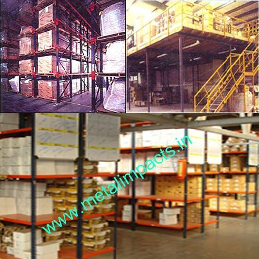 Metal Impacts is a leading manufacturers & Suppliers of Racks, Industrial racks, Warehouse racks, Metal pallets racks, Heavy Duty pallet Racks in Bangalore, India.