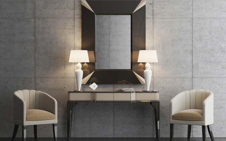 #mirror #chair #console KHALI #inspiration #sideboard #interiordesign #designideas #home #homeinteriors #homeideas #homedesign #livingroom #moderndesign #furniture #portuguesedesign #homeinspiration #hometrends #trends #2017trends #room #interiors