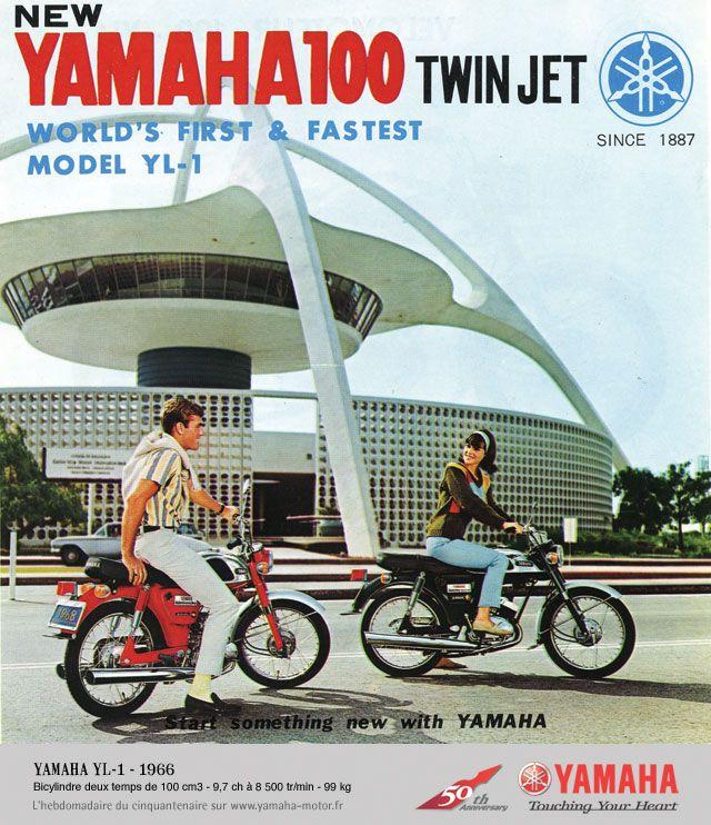 17 best images about classic motors honda honda yamaha yl 1 ad 1966 lax